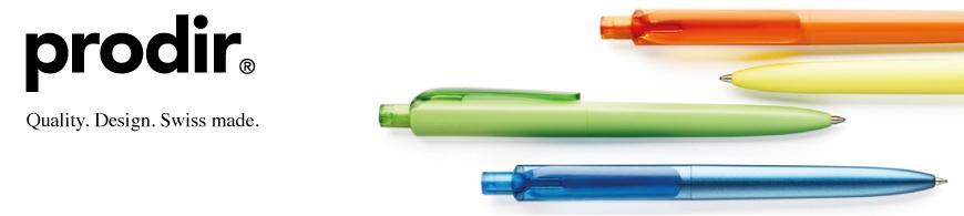 Prodir pennen bedrukken ontworpen in uw huisstijl door BINQ Promotions. Goedkoop prodir pennen bedrukken vanaf een kleine oplage, snel en goedkoop.
