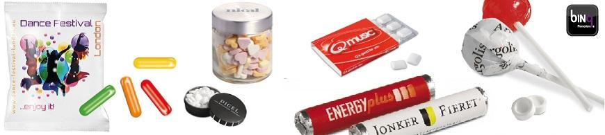 bedrukte snoepjes met logo bestellen. Goedkoop bedrukte snoepjes met logo bestellen gratis ontwerp, sample en bezorging.